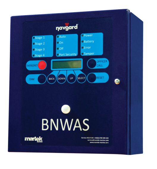 BNWAS Control Panel